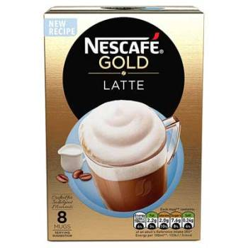 NESCAFE GOLD LATTE 8 Sachets