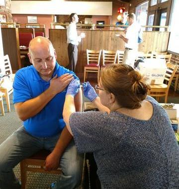 Dry Pro Provides Free Flu Shots