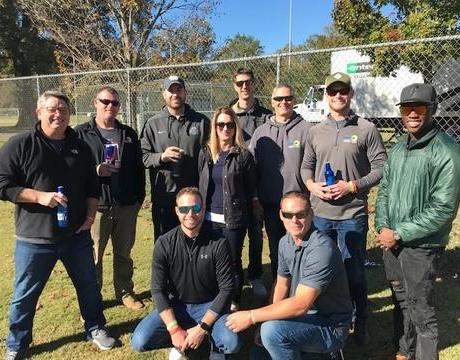 Dry Pro Sponsors and Participates in Pitchin' for Wishes Cornhole Tournament