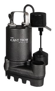 Safe Dri Cast Iron Sump Pump