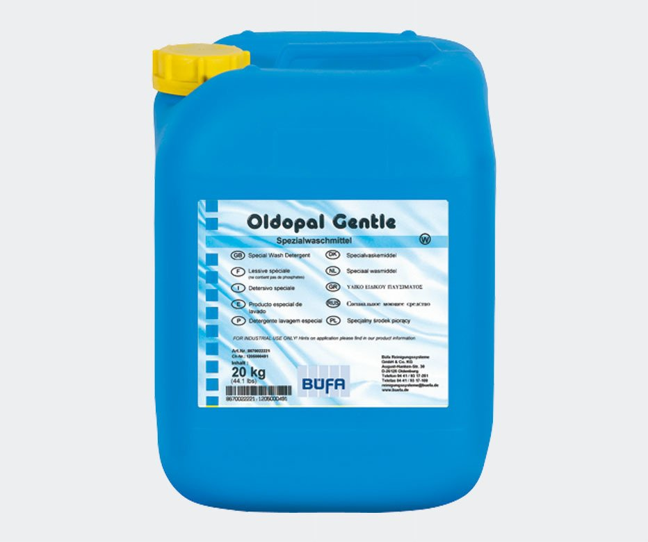 OLDOPAL GENTLE Hassas ve Renkli Tekstiller için Özel Geliştirilmiş Sıvı Deterjan