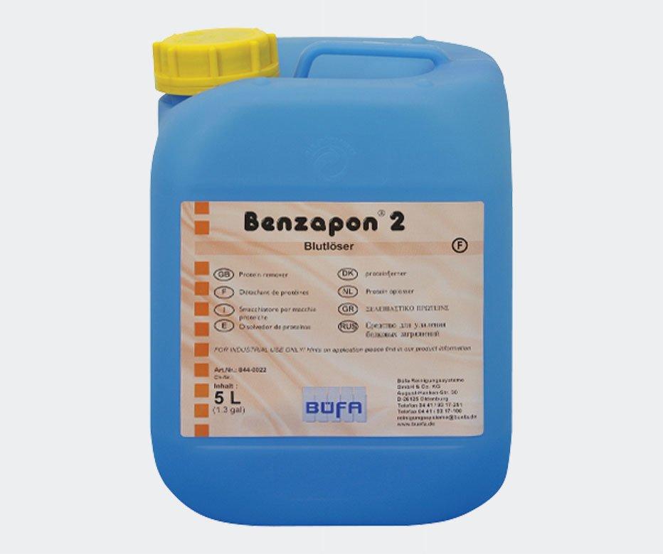 BENZAPON 2 Protein Lekeleri için Ön Leke Giderici