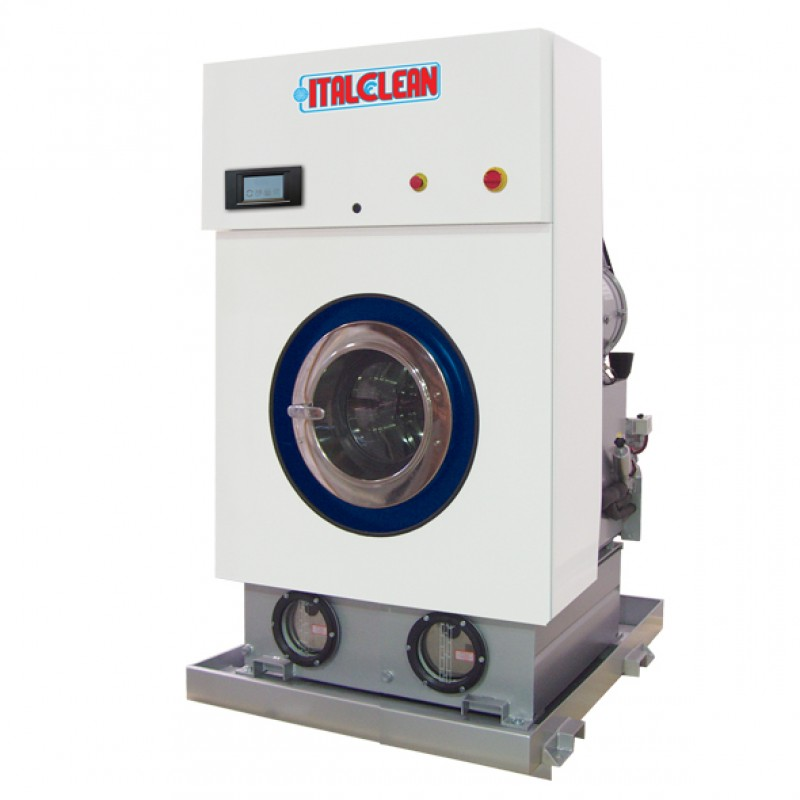 Italclean Drytech 200-300/ Hard Mounted/Stıll Multisolvent Kuru Temizleme Makinası