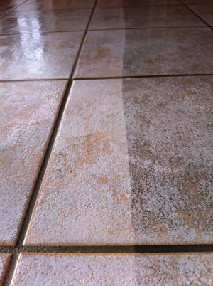 tile cleaning dry solutions cleaning