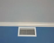 damaged ceiling fixed drywall