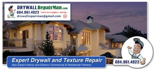 interior textured ceiling repair