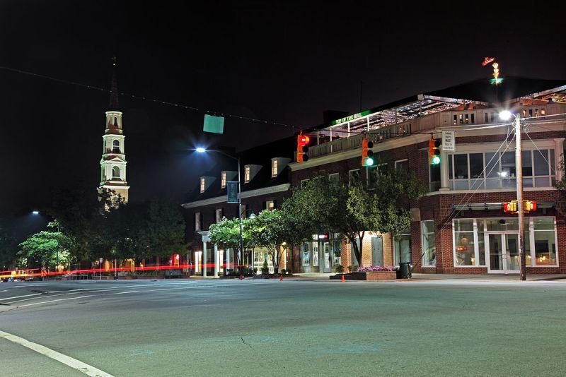 Franklin Street in Chapel Hill, NC