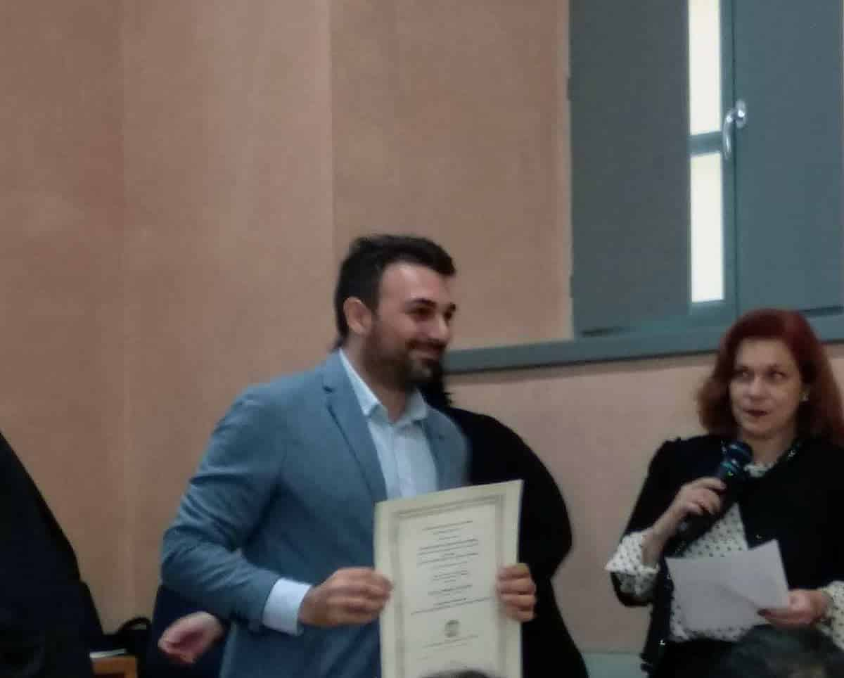 cerimonia di dottorato di ricerca di Zecca Piero Antonio