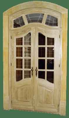 Drzwi wewnetrzne recznie robione drewniane