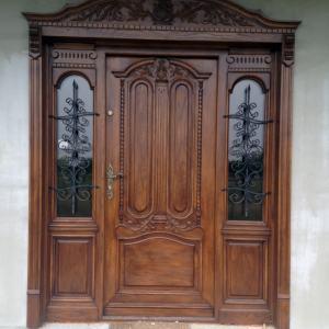 Drzwi wejsciowe recznie robione