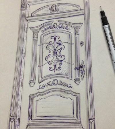 Indywidualne projekty drzwi