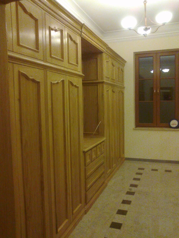 Dębowe szafy pod zabudowe