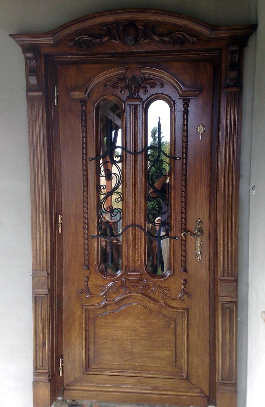 Drzwi zewnętrzne – indywidualny projekt