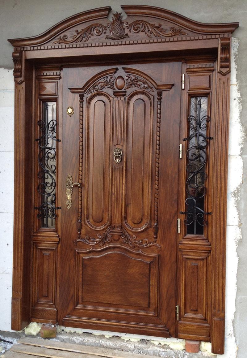 Drzwi robione na wymiar z nakładką
