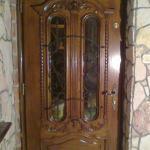 Drzwi frontowe z naswietleniem gornym