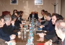 Επίσκεψη Υπουργού Δικαιοσύνης στον Δ.Σ.Α-Συνάντηση-συζήτηση με τον Πρόεδρο και τα μέλη του Δ.Σ για τα προβλήματα Δικηγόρων και Δικαιοσύνης