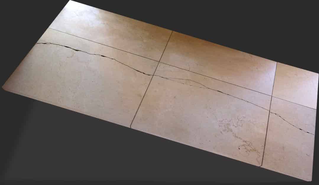 cracked tile repair services