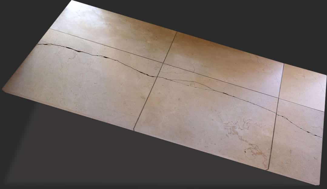 cracked shower tile repair service in