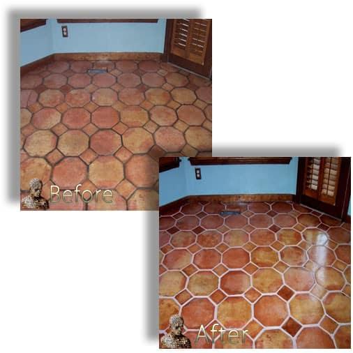 saltillo mexican tile restoration
