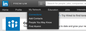 Remove LinkedIn Network Connections