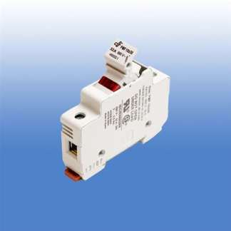 1 POLE FUSE HOLDER FOR CLASS CC FUSES WITH 120V NEON INDICATOR