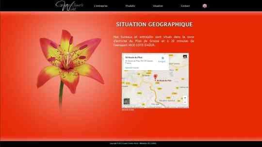 Situation géographique de l'entreprise Grasse Chimie's World.