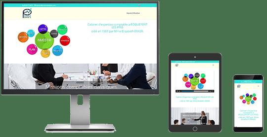 "Le site www.aubergedupontdantis.com est ""Responsive-Design"""