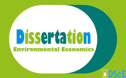 MEcon in Environmental Economics (Batch4)