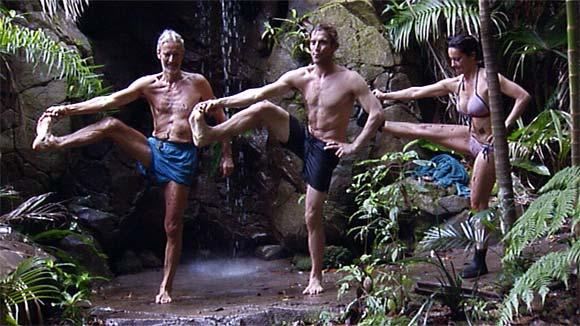 Dity Dancing im Dschungelcamp 2011