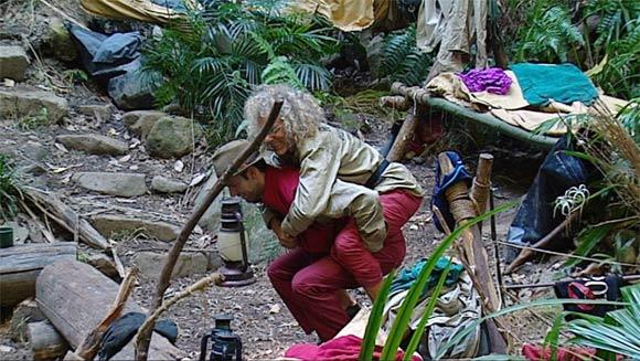 Jay und Reiner im Dschungelcamp