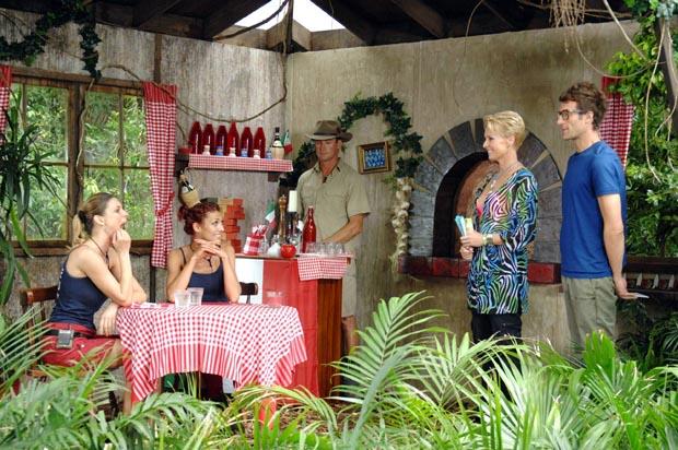 Ekelprüfung im italienischen Dschungelrestaurant