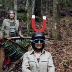 Tanja bei der Dschungelpüfung mit Winfried