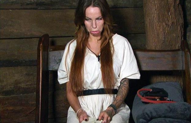 Gina-Lisa Lohfink: Dicke Lippe im Dschungeltelefon