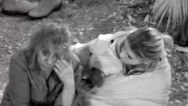 Tina York und Jenny im Dschungelcamp 2018