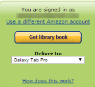 Amazon Get Library Book
