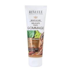 Revuele Face Clay and Coffee Gommage Scrub Απολεπιστικό με Πράσινο Καφέ και Πηλό 80ml