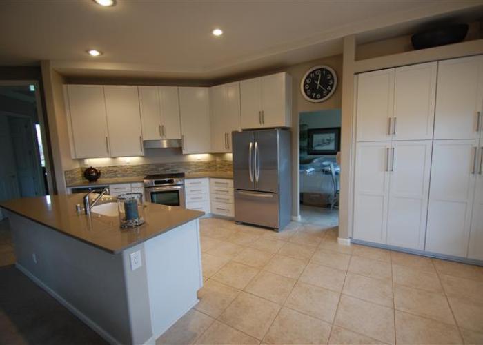 kitchen remodel semi custom