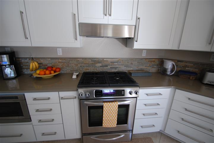 kitchen remodel stainless range exhaust