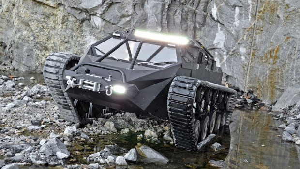 Ripsaw EV2 Super Tank Luxury Vehicle Drive Safe And Fast