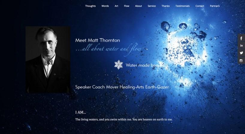 Website design, graphic design // matt-thornton.com