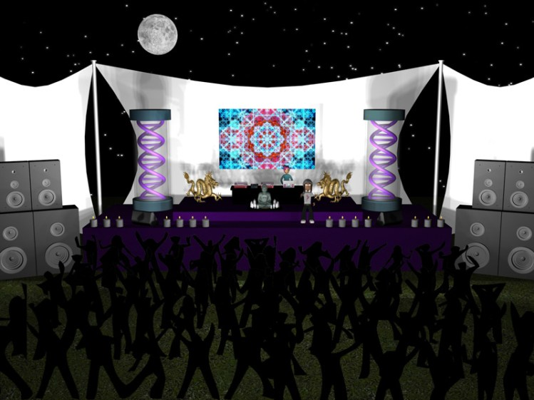 "3D illustration for ""shifting"" music video by matek."