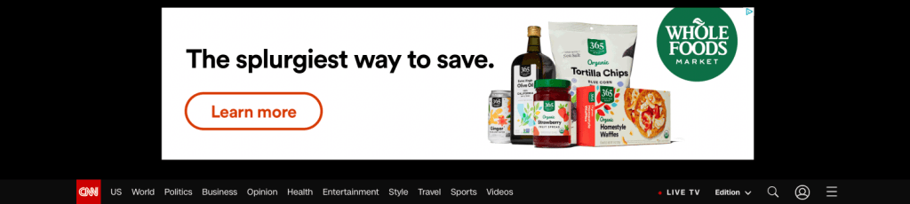 paid media - display ad