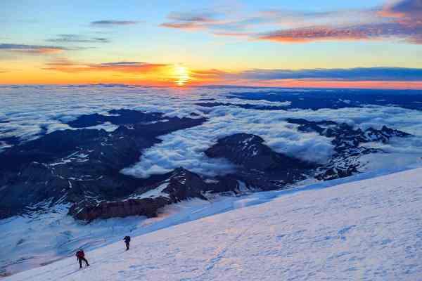 12K Foot Sunrise