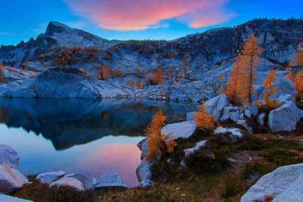 Blue Hour at Crystal Lake