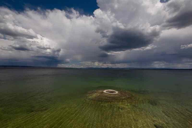 Edge of Yellowstone Lake