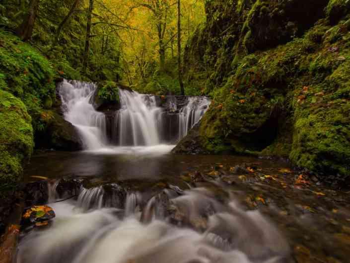 Emerald Falls Autumn