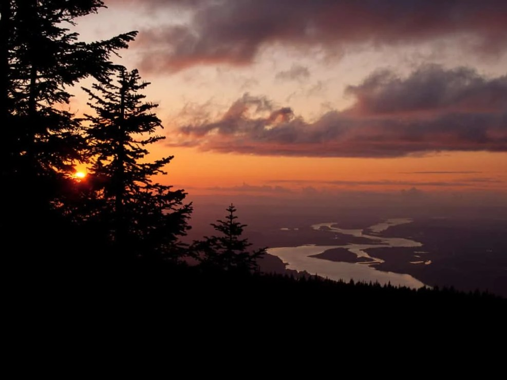High Above the Columbia River