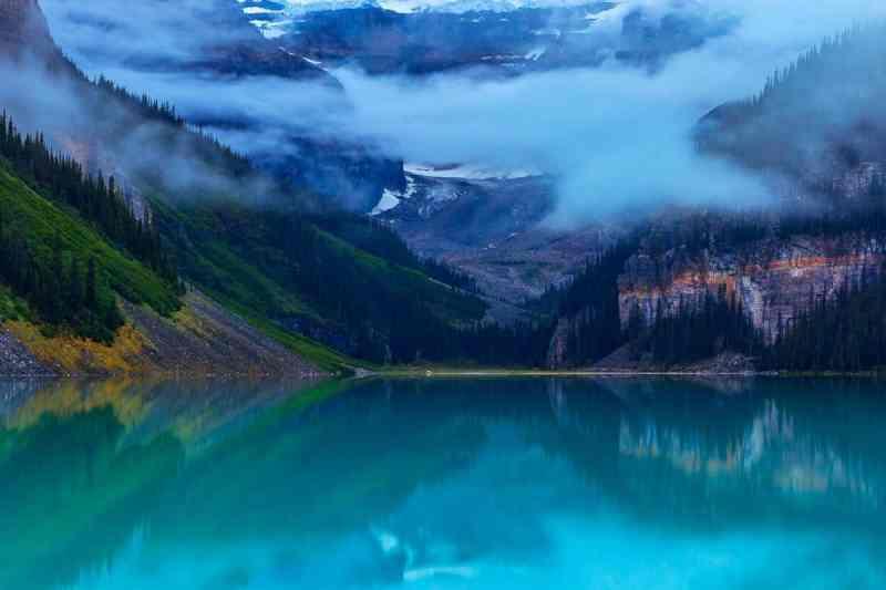 Lake Louise Fog