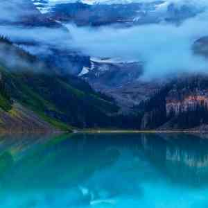 Lake Louise Fog