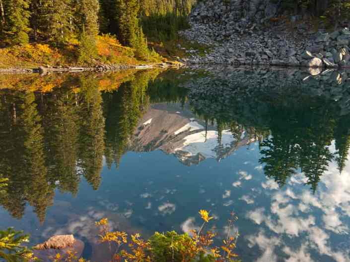 Mount Jefferson and Bays Lake